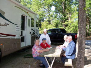 Comfortable Campsite at Fair Harbor RV Park and Campground