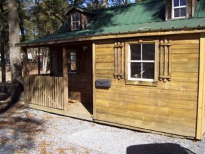 Rent a Cabin at Fair Harbor RV Park and Campground