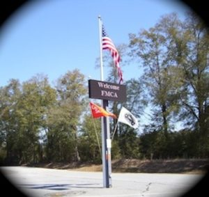 Fair Harbor RV Park and Campground Entrance
