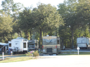 Shady Sites at Fair Harbor RV Park and Campground