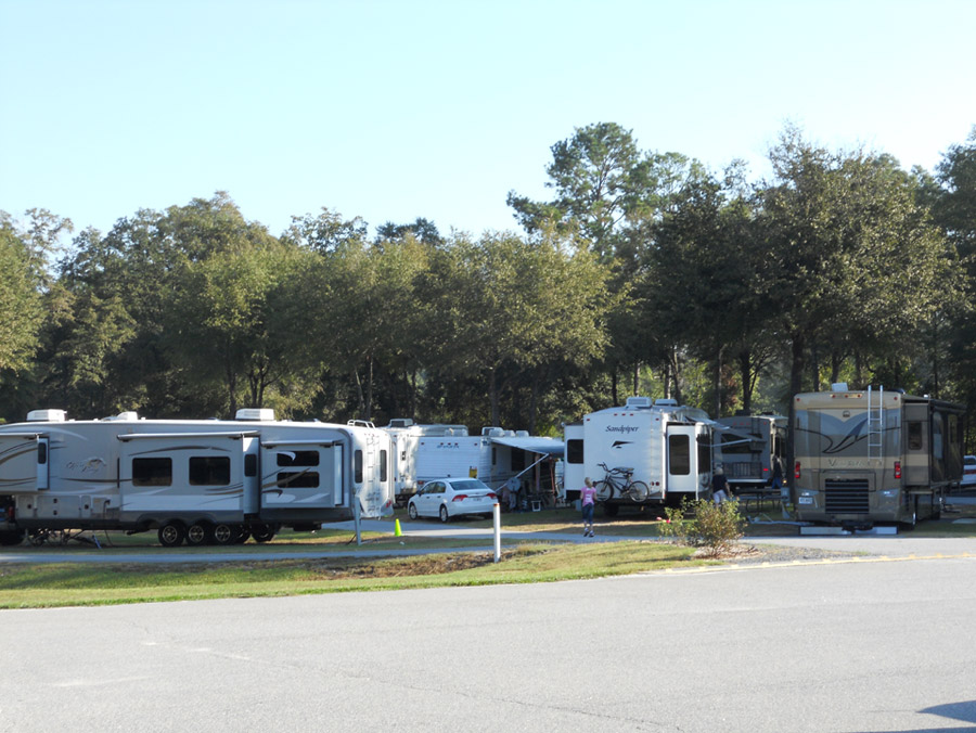 More Campsites at Fair Harbor RV Park and Campground