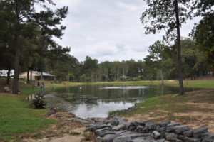 View from the lake – Fair Harbor RV Park and Campground